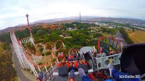 six flags magic mountain x2 hd pov 4th dimension roller coaster six flags magic