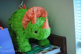 dinosaur pinata tigers s dino party