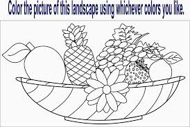 merry coloring sheets fruit vegetables preschool coloring