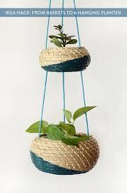 hanging planter basket ikea hack clever hanging planter basket set ikea hack clever and