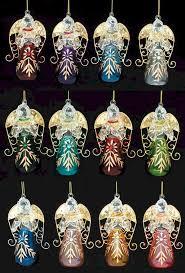 birthstone ornaments birthstone