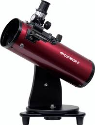 review orion skyscanner 100mm table top reflector telescope