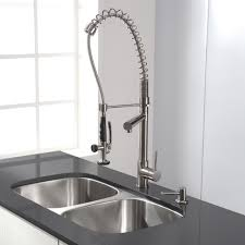 Kraus KPF Chrome Commercial Style PreRinse Kitchen Faucet - Kraus kitchen sinks reviews