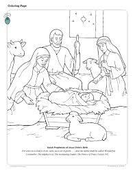 lds christmas coloring pages learntoride co