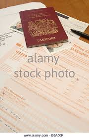 british passport application form stock photos u0026 british passport