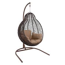 Hanging Chair Ikea by Decorating Appealing Rattan Egg Chair Ikea With White Cushions