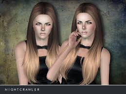 hair color to download for sims 3 nightcrawler sims nightcrawler afhair02