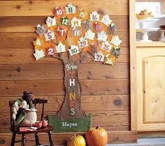thanksgiving countdown calendar pottery barn