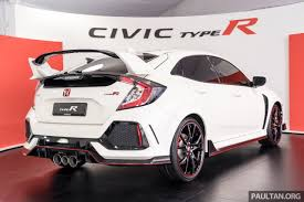 honda civic 2017 type r fk8 honda civic type r confirmed for malaysia u2013 310 ps hatch on