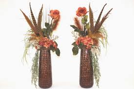 19 large artificial flower arrangements lux art silks large