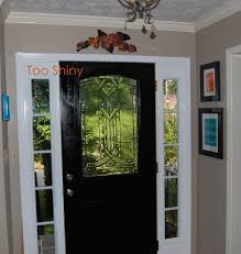 Painting Interior Doors by Interior Design Attractive Main Half Glass Wooden Black Interior
