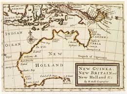 Holland Map Pre Crown Maps Of Australia Stella Wheildon