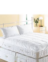 King Size Bed Topper Bedroom Cozy Tufted Bed With Matress Topper And Decorative