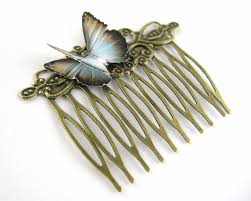 vintage comb womens hair combs for butterfly hair comb clip decorative