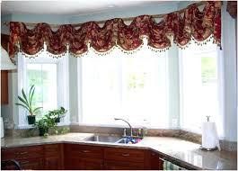 kitchen bay window curtain ideas kitchen bay window curtains size of kitchen mesmerizing cool