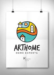 Best  House Logos Ideas Only On Pinterest Art Logo Logo - Graphic design from home