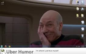 Jean Luc Picard Meme Generator - captain picard star trek the next generation lmfao picard