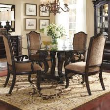 dining tables tempered glass for table top round dining room