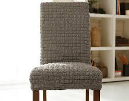 housse chaises assez housse de chaise extensible 30605taupe beige alinea