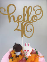 40 cake topper buy 40 cake topper and get free shipping on aliexpress