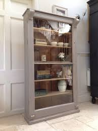 kitchen design ideas display cabinet bookcase wood gray display