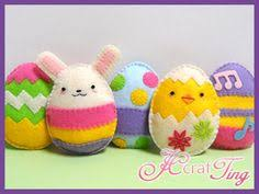 Easter Decorations Pdf by Little Chicken And Egg Felt Could Make As A Cookie Decoration