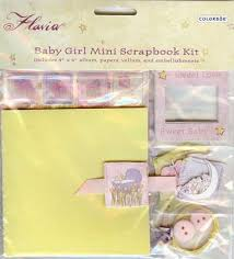 Colorbok Scrapbook Baby Mini Scrapbook Album Kit Colorbok
