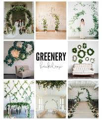 wedding backdrop greenery greenery backdrop the page nebraska wedding day