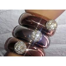 rose rhinestone bracelet images Rose gold rhinestone bracelet flask bangle flask barware tradesy jpg