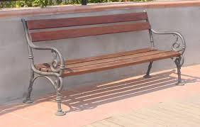 panchine da giardino in ghisa panchina vienna per giardino e parco 4007 fonderia