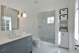 basket weave tile vogue new york transitional bathroom decorators