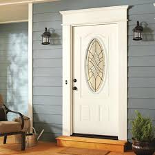 Exterior Door Window Inserts Exterior Door With Window 36 In X 78 In 300 Series White Universal