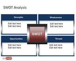 free swot powerpoint slide design is a presentation template for