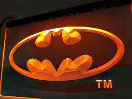 Batman Home Decor Batman Hero Man Cave Led Sign U2013 Vintagily