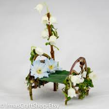 fairy garden bed fairy furniture faerie item fairy decor mini