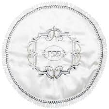 passover matzah cover passover gifts embroidered silver and gold matzah cover