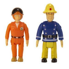 fireman sam tom thomas 2 play figures toy amazon