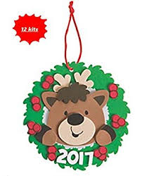 mitten ornament craft kit crafts for