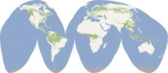 Correct Map Of The World by Nasa Visible Earth Forest Canopy Height
