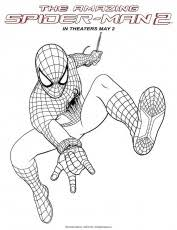 amazing spider man coloring pages coloring