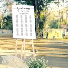 wedding welcome sign template wedding reception seating chart poster template endo re enhance
