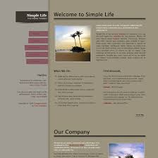 simple life free html css templates