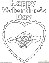 happy valentine u0027s worksheet education