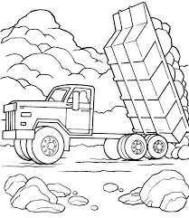minecraft dump truck pe coloring pages good dump truck coloring pages crayola photo fr