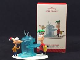 phineas ferb hallmark ornament disney products and