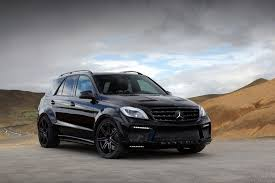 mercedes ml 63 2013 mercedes ml63 amg inferno black by topcar review top speed