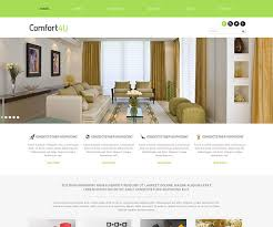 19 free interior design and furniture website templates templatemag