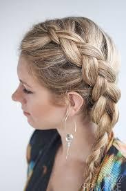 side hair side braid hairstyle tutorial hair