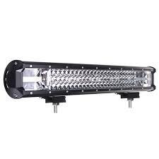 automotive led light bars 22 inch 648w led light bar flood spot combo beam driving l car