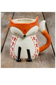 Fox Mug by 126 Best Mugs Images On Pinterest Coffee Cups Ceramic Mugs
